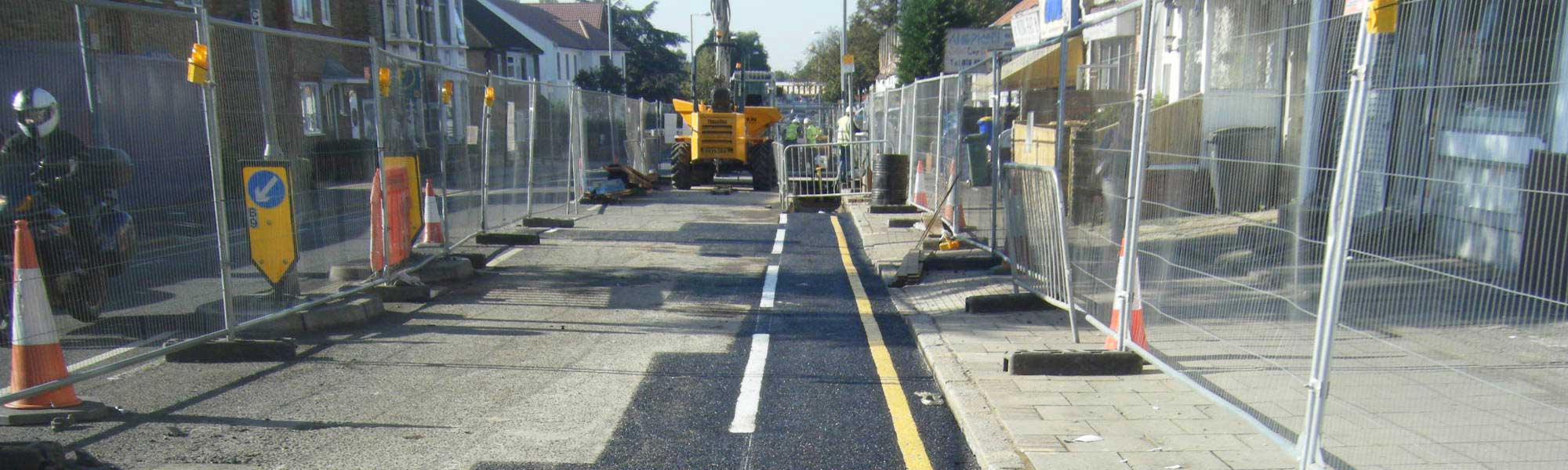 Local authority road resurfacing